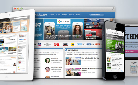 You'll get to work on market-leading websites seen by hundreds of thousands of visitors.